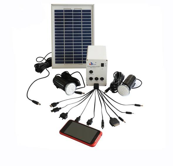 Mini Solar Lighting Kit MSD 02-11-1