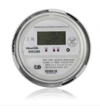 Single Phase Socket Type ANSI Energy Meter