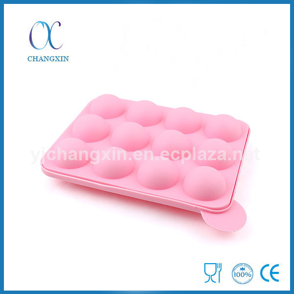 Sugar-loaf Handmade Candy Food Grade Silicone Lollypop Mold