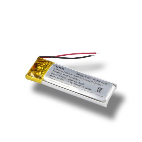 331030 lithium ion polymer battery