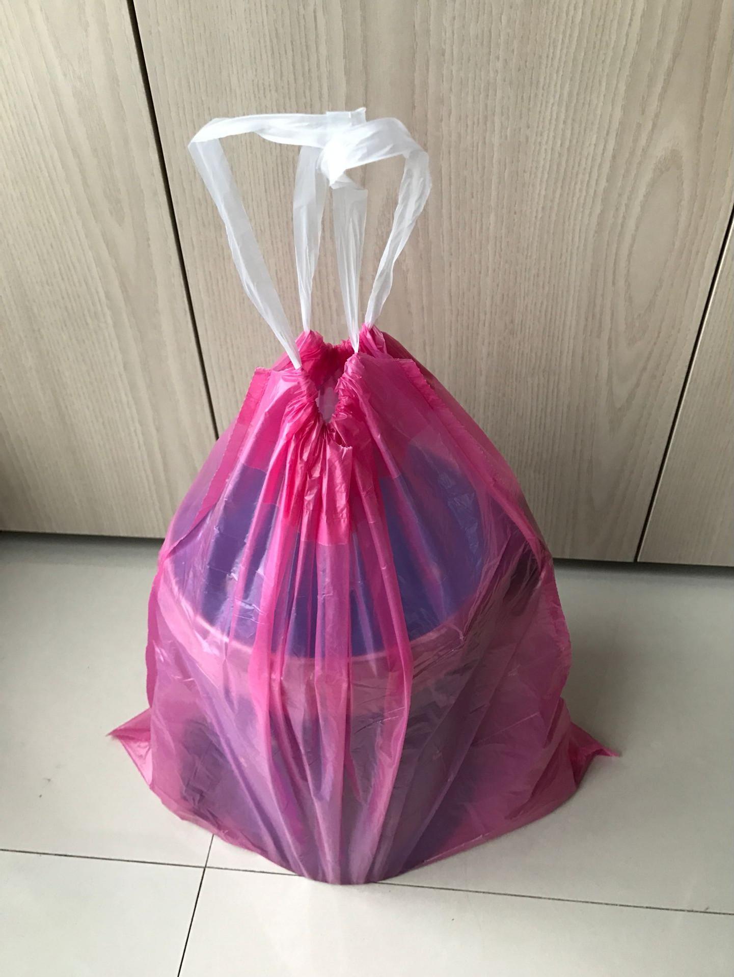 PE Drawstring Garbage Bags