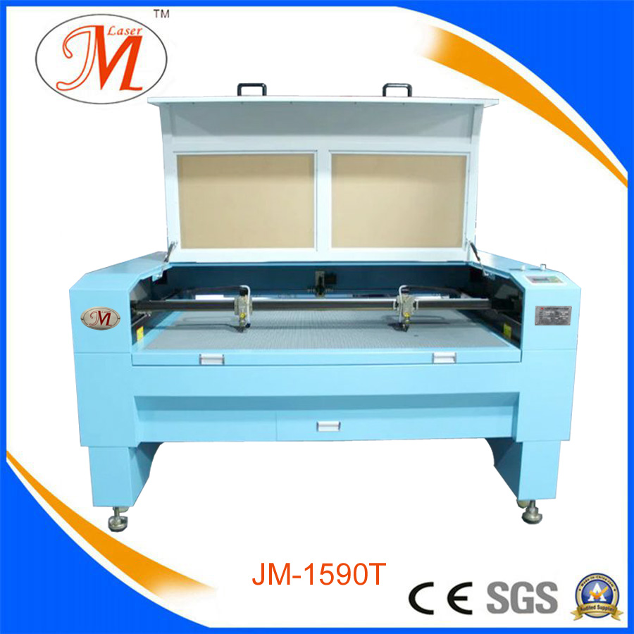 Double Heads Laser Cutter for MDF/Wood/Acrylic (JM-1590T)