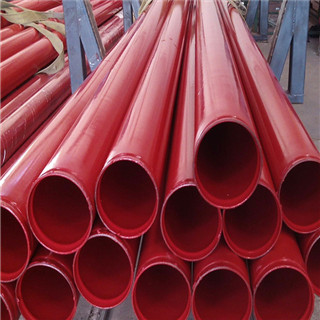 Plastic Coated Composite Firefighting Pipe