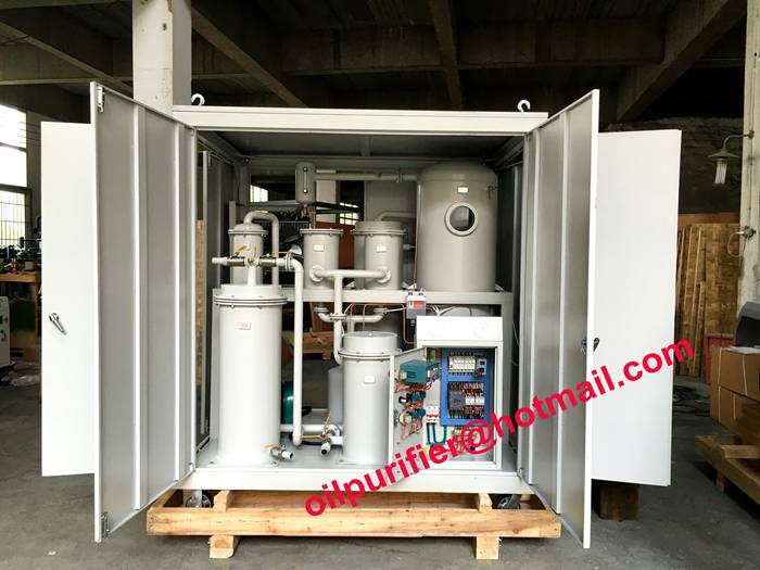 vacuum lube oil purification machine, oil filtration plant, for stream turbine, hydraulic