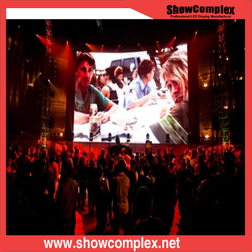 P3.9 Full Color Rental LED Display Screen for Stage