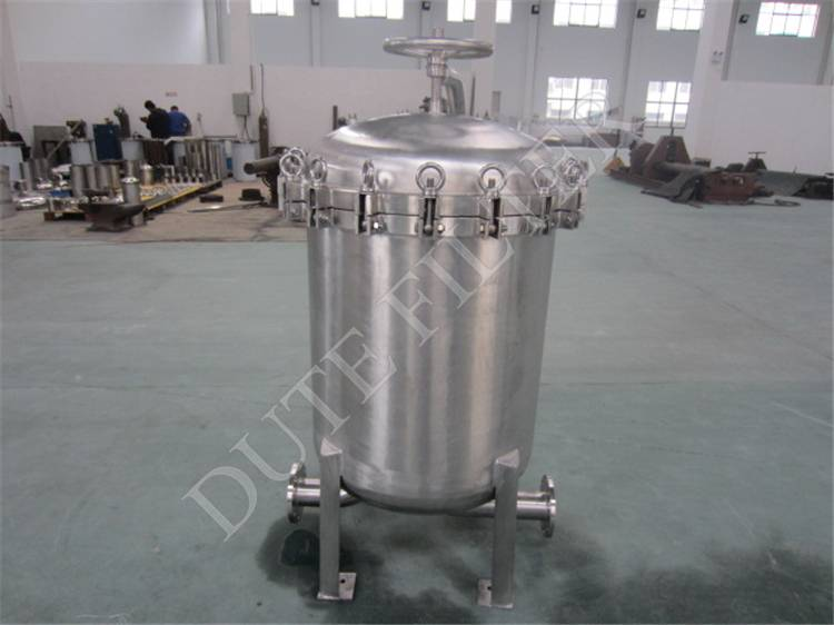 Stainless steel Multi-bag filter housing for precision filtration