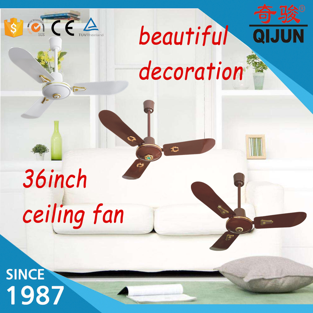 36inch decorative ceiling fan hole sale worldwide