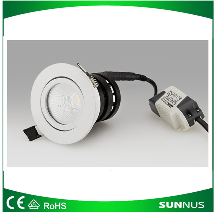 Led down light 7W/10W/15W LED COB, RoHS and CE