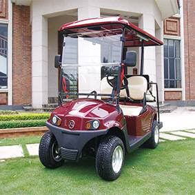 electric golf cart with AC system standard configuration