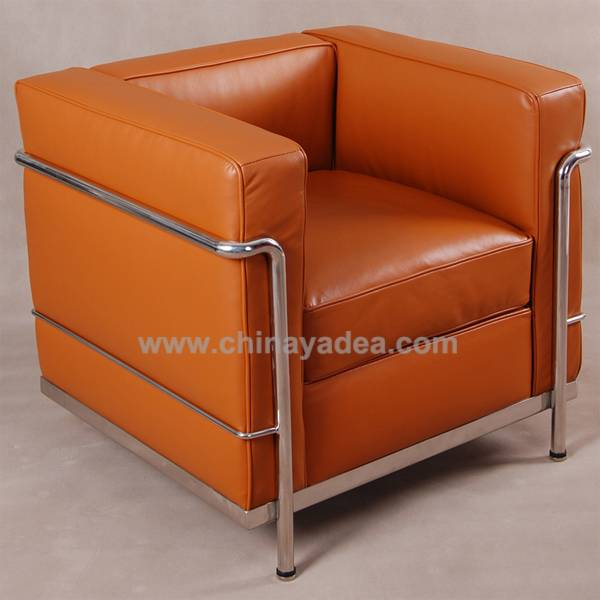 Office furniture commercial furniture LC2 sofa cassina