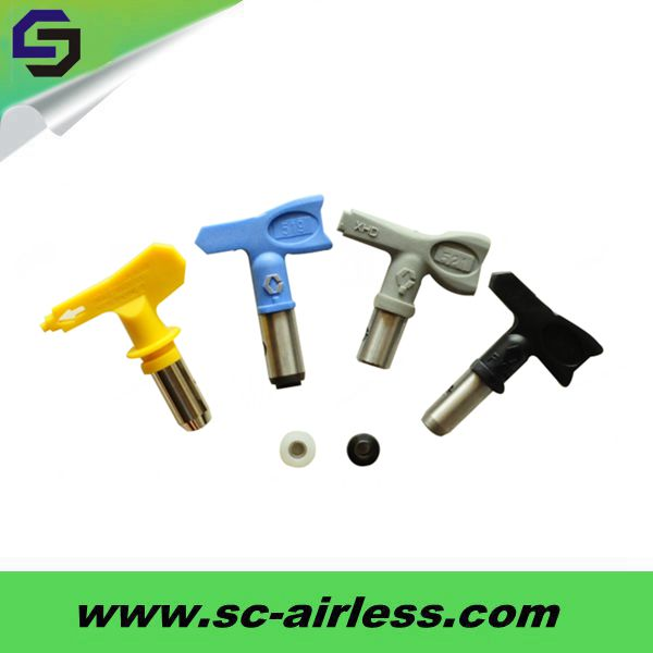 OEM ServicesGrey/Black/Yellow/Blue Airless paint sprayer tip/spray tip/spray nozzle