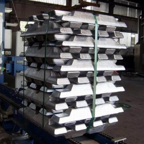 Aluminum Ingots, Zinc Ingots, Lead Ingots, Copper Ingots, Steel Ingots.