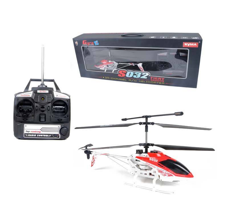 SYMA S032 Gyro Metal Frame Coaxial 3 Channel RC Helicopter