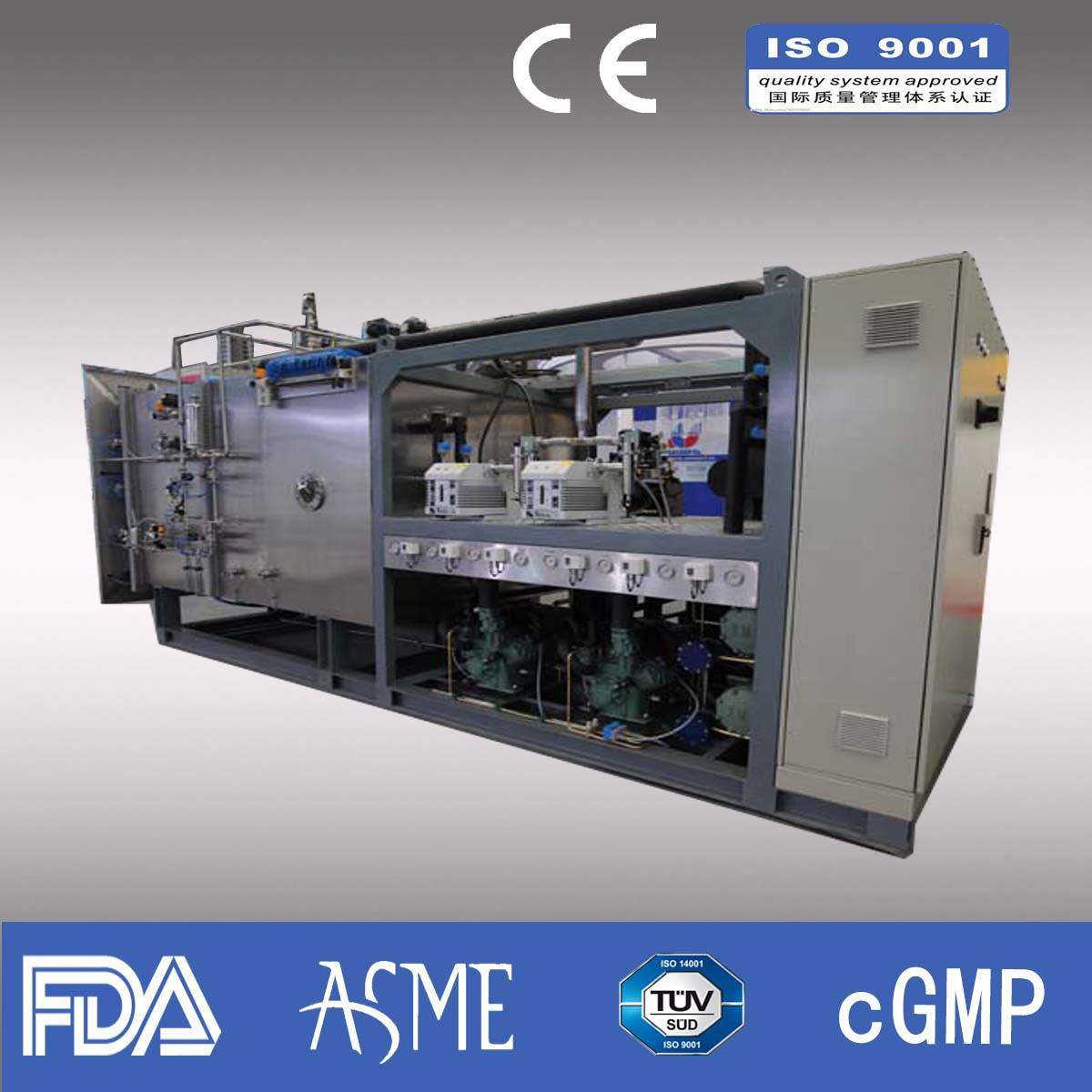 Freeze dryer/ Pharmaceutical freeze dryer/ industrial freeze dryer/Capacity 600kg
