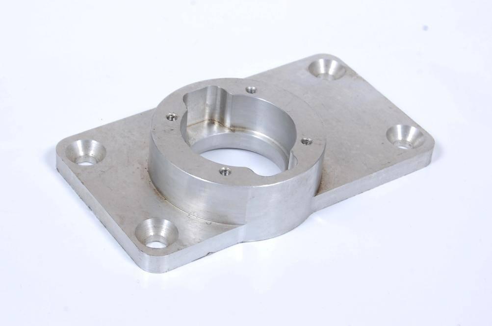 Machining aluminium parts