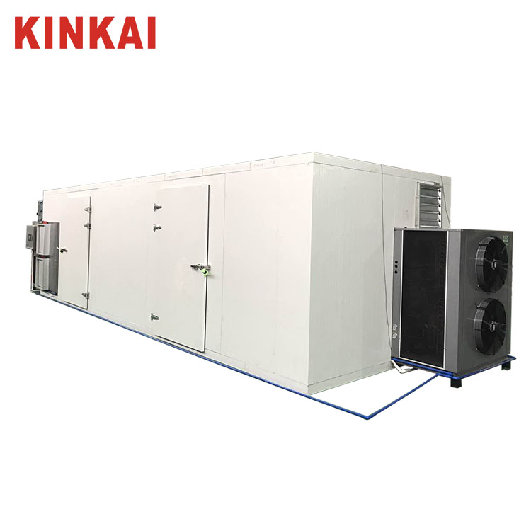 KINKAI energy saving heat pump dryer Air circulation uniform drying for wood Wood drying machine