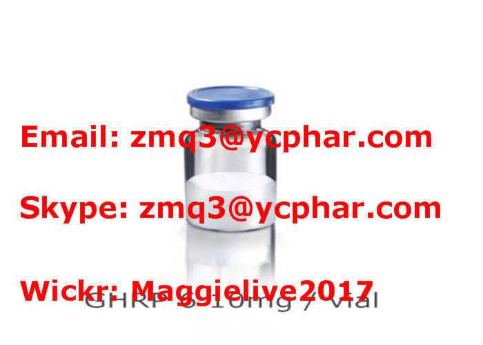 High Purity 99% White Powder Bodybuilding Supplement Ghrp-6 87616-84-0