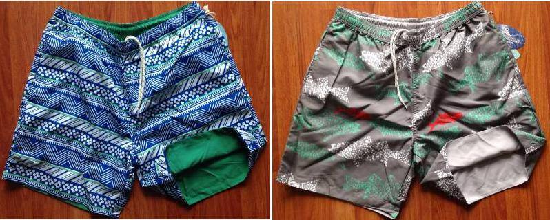 Islandia brand stocklot available, 32,400pcs Men's reversible beach short TC2-383