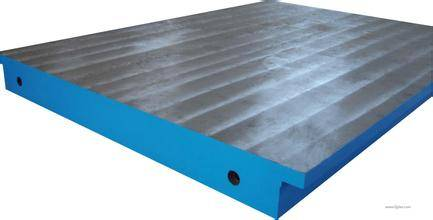 cast iron surface plate with T slot