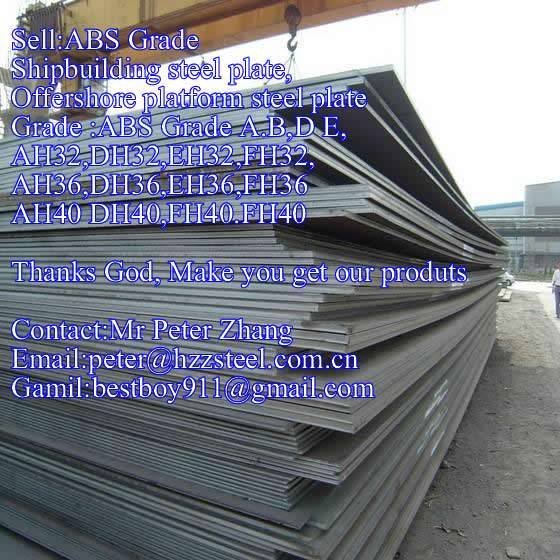 Sell :Shipbuilding steel plate,Grade,ABS/A,ABS/B,ABS/D,ABS/E,API 5L 2HGr50 steel plate/sheets/Materi