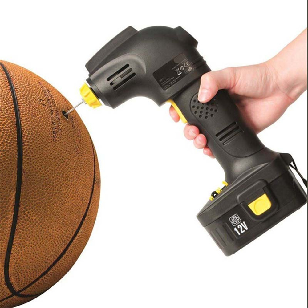 Tonsim Best Selling Electric 12v dc mini air pump Portable for any style ball