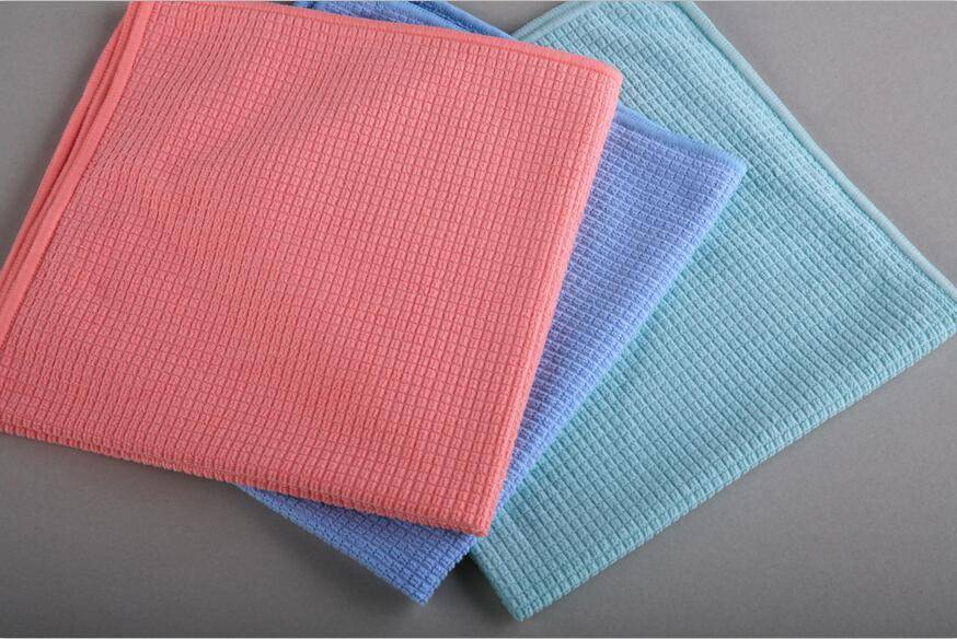 Microfiber Knitted Waffle Cloth