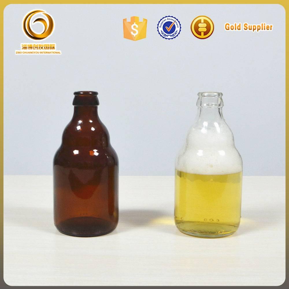 330ml mini glass beer bottle wholesale empty bottles