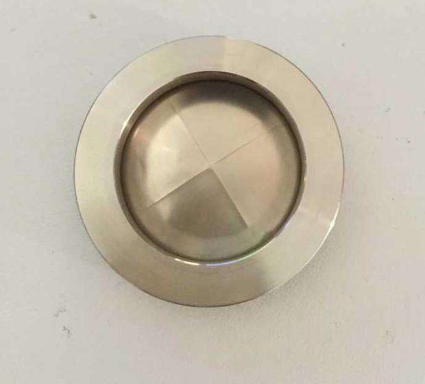 Rectangular flat slotted type dis rupture/ stainless steel rupture disk