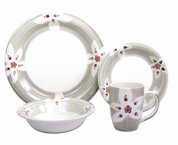 Hand painted Stoneware Dinnerware Set