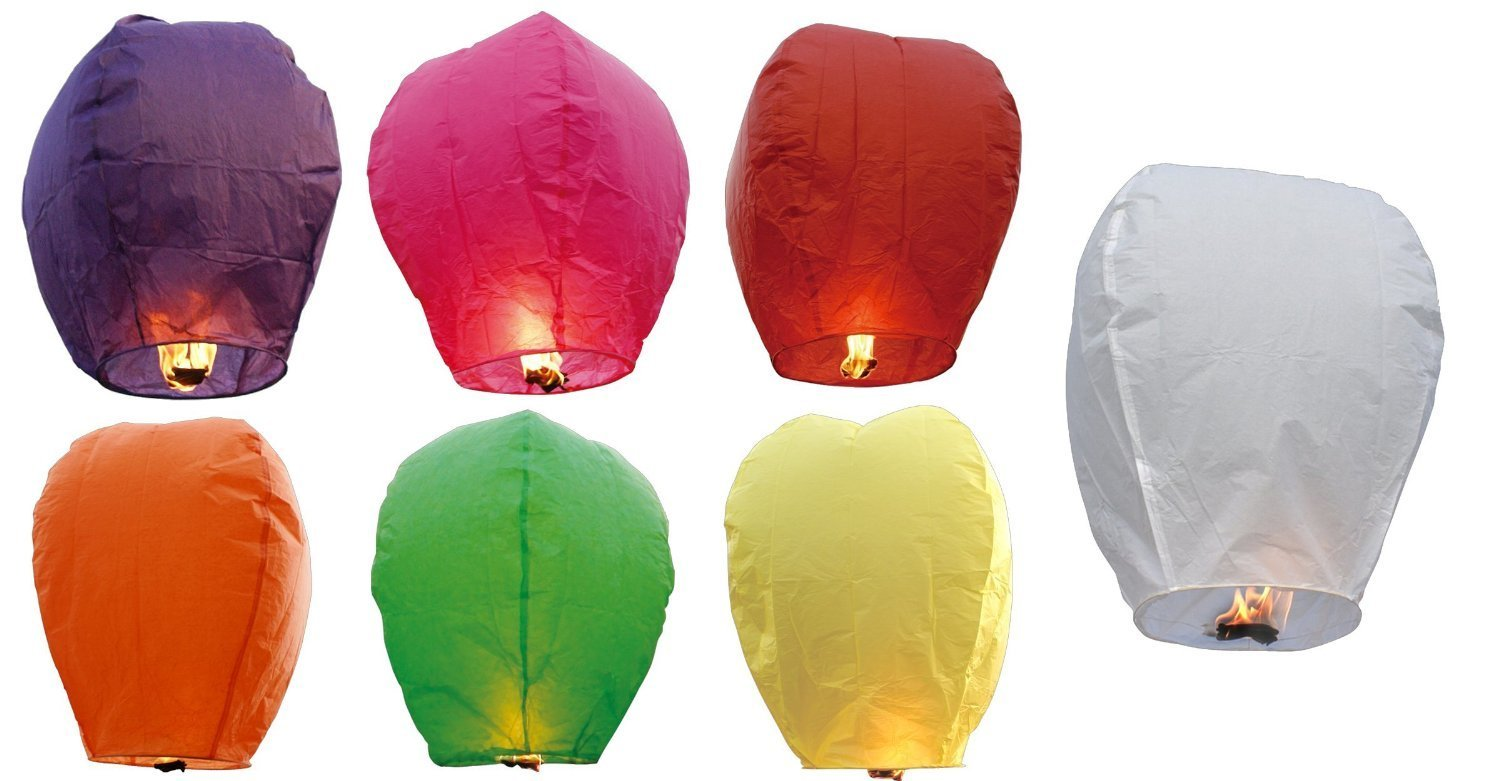Wholesale Party Decoration Sky Lantern Flying Paper Lantern