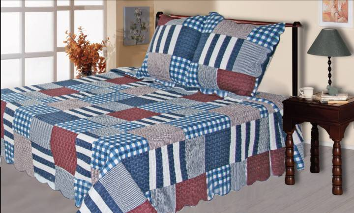 100% cotton printed quilts