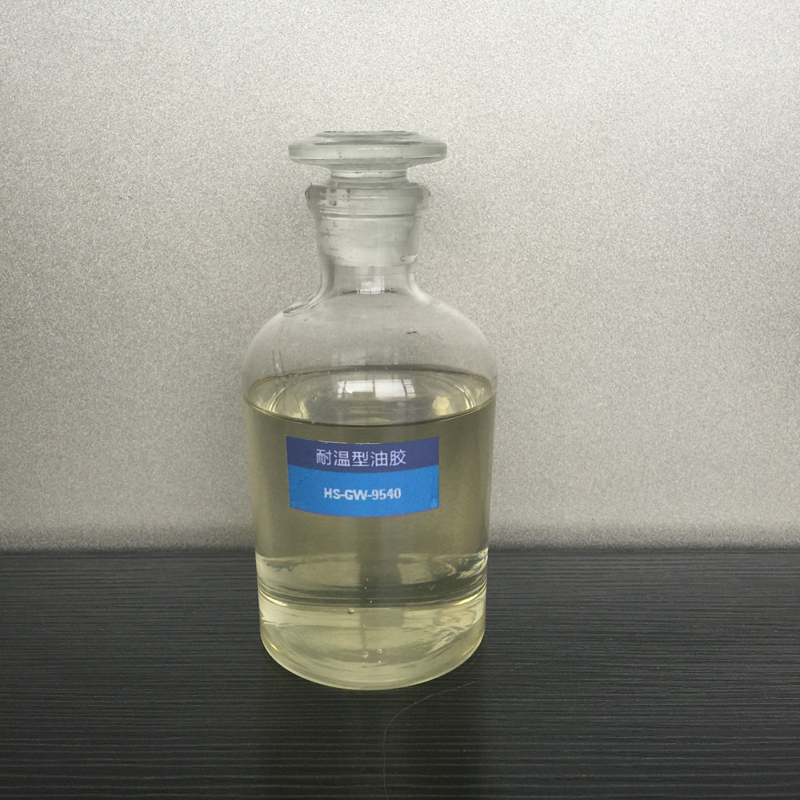 Single component high-strength oil glue