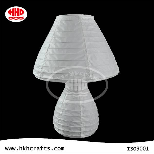 Unique modern handmade decoration table lamp in paper