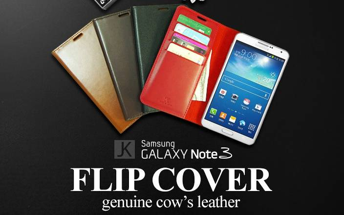 Cell phone case for Galaxy note3 Flip Cover Case!