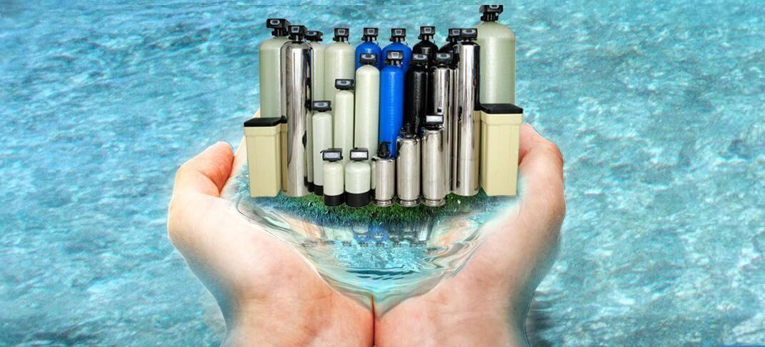 Water Filter Tank/FRP Pressurevessel/Water Softner Vessel for Water Treatment
