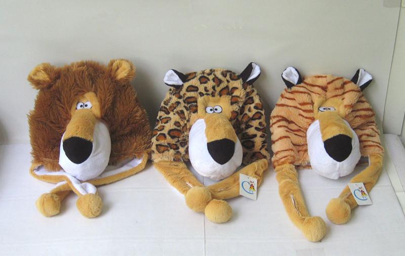 Wholesale Lion hat Plush toys  CZ-TC-07