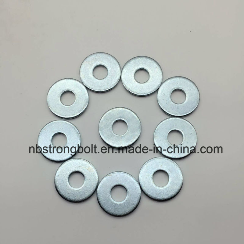 DIN9021 Larg Size Flat Washers Carnbon Steel with Zinc Plated Cr 3+