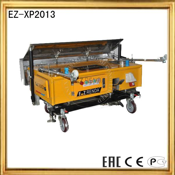 Foshan ezrenda plastering videos for construction machines with plastering equipment