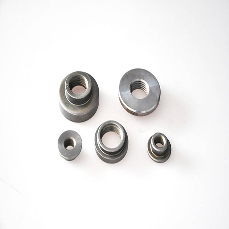 Oil cylinder welding nozzle nut