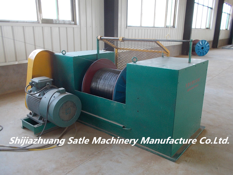 Wire layer coil winding machine