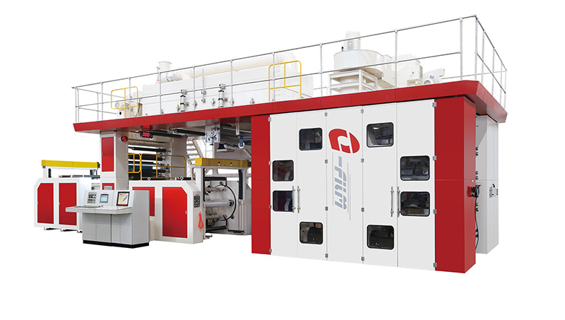 E-flim full servo ci flexo printing press