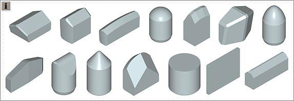 Rydmet Carbide Tips for TBM Cutter