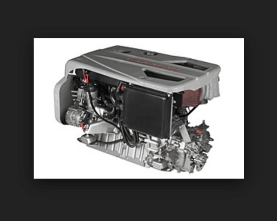 New Yanmar 4BY3-180 Marine Diesel engine 180hp