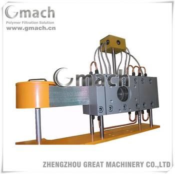 Automatic control band type continual working screen changer