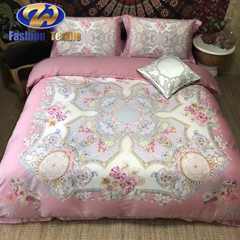 Cheapest single bed sheet digital print bedding set
