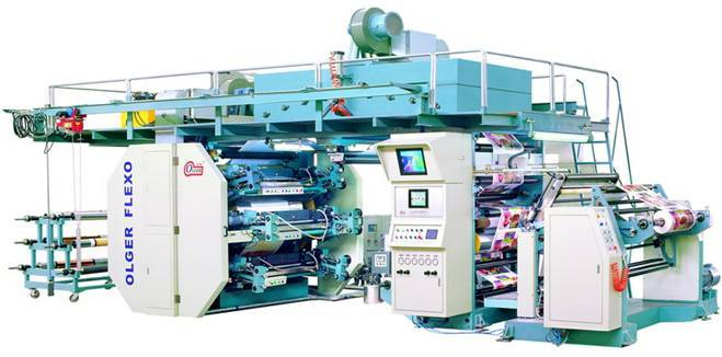 Central Impression Flexographic Printing Machine