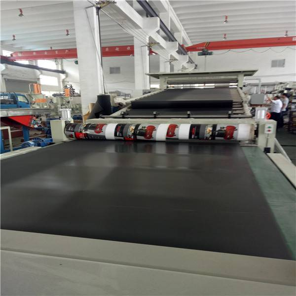 Cars' interior sheet extruder production line