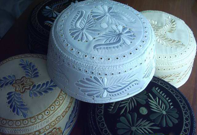 Muslim caps/Kufi/Embroidery caps DX10001