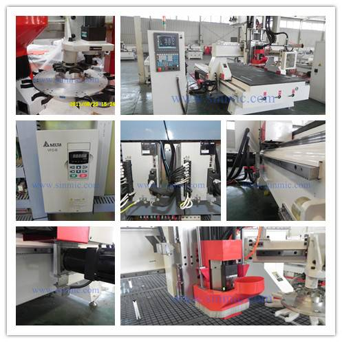 China SINMIC cnc router woodworking machine