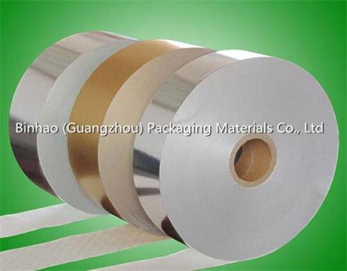 Differnt Color Customized Aluminum Foil Paper with Width of 82 - 86mm